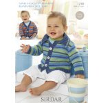 Babies and Childrens Cardigans in Snuggly Baby Bamboo Dk (1218)