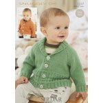 Babies Cardigans in Snuggly Dk 50g (1237)