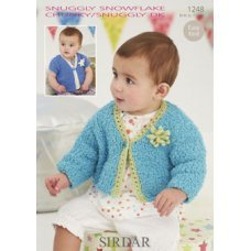 Babies Cardigans & Jackets in Snuggly Dk 50g (1248)