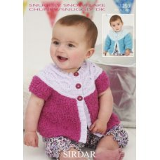 Babies Cardigans & Jackets in Snuggly Dk 50g (1250)