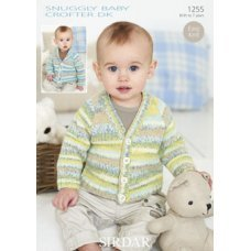 Babies Cardigans in Snuggly Baby Crofter Dk (1255)