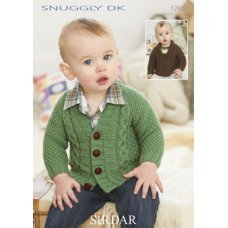 Babies Cardigans & Jackets in Snuggly Dk 50g (1265)