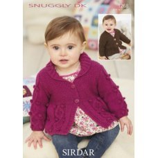 Babies Cardigans & Jackets in Snuggly Dk 50g (1268)