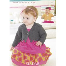 Babies Cardigans & Jackets in Snuggly Dk 50g (1307)