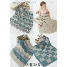 Babies Blankets in Snuggly Tiny Tots Dk (1334)