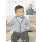 Babies Cardigans & Jackets in Snuggly Tiny Tots Dk (1335)