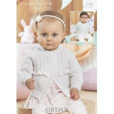 Babies Cardigans & Jackets in Snuggly Dk 50g (1376)