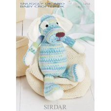 Sirdar Toy Dog in Snuggly DK and Snuggly Baby Crofter DK (1458)