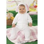 Bunny All-In-One in Snuggly Dk (1463)