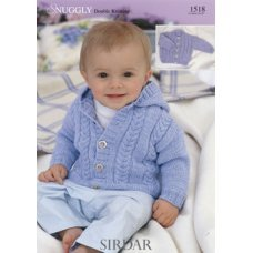 Babies Cardigans & Jackets in Snuggly Dk 50g (1518)