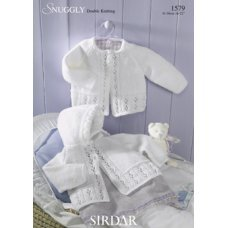 Babies Cardigans & Jackets in Snuggly Dk 50g (1579)