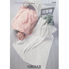 Babies Shawls & Blankets in Snuggly Dk 50g (1600)