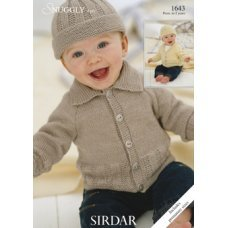 Babies Cardigans & Jackets in Snuggly 4 Ply 50g (1643)