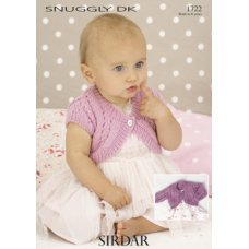 Babies Cardigans & Jackets in Snuggly Dk 50g (1722)