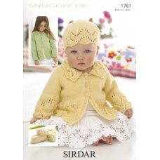 Babies Cardigans & Jackets in Snuggly Dk 50g (1761)