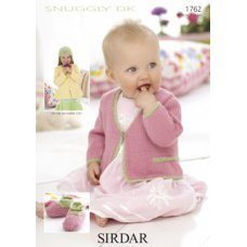 Babies Cardigans & Jackets in Snuggly Dk 50g (1762)