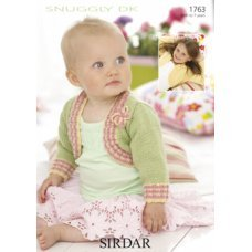 Babies Cardigans & Jackets in Snuggly Dk 50g (1763)