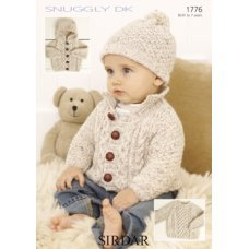 Babies Cardigans & Jackets in Snuggly Dk 50g (1776)