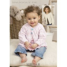 Babies Cardigans & Jackets in Snuggly Dk 50g (1781)