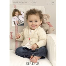 Babies Cardigans & Jackets in Snuggly Dk 50g (1783)