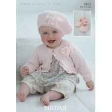 Babies Cardigans & Jackets in Snuggly Dk 50g (1812)