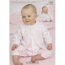 Babies Cardigans & Jackets in Snuggly Dk 50g (1862)