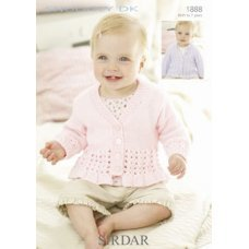 Babies Cardigans & Jackets in Snuggly Dk 50g (1888)