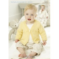 Babies Cardigans & Jackets in Snuggly Dk 50g (1889)