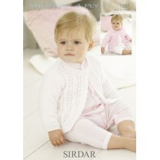 Babies Cardigans & Jackets in Snuggly 4 Ply 50g (1891)
