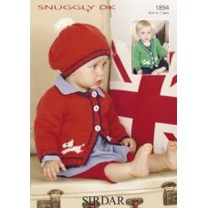 Babies Cardigans & Jackets in Snuggly Dk 50g (1894)
