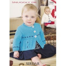 Babies Cardigans & Jackets in Snuggly Dk 50g (1898)