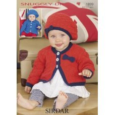 Babies Cardigans & Jackets in Snuggly Dk 50g (1899)