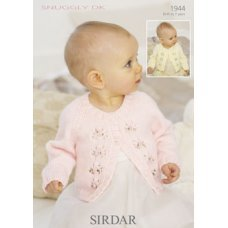 Babies Cardigans & Jackets in Snuggly Dk 50g (1944)
