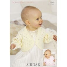 Babies Cardigans & Jackets in Snuggly 4 Ply 50g (1948)