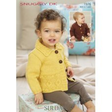 Babies Cardigans & Jackets in Snuggly Dk 50g (1976)