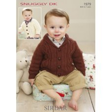 Babies Cardigans & Jackets in Snuggly Dk 50g (1979)
