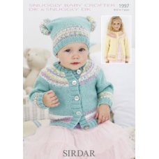 Babies Cardigans & Jackets in Snuggly Dk 50g (1997)