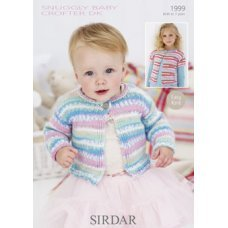 Babies Cardigans & Jackets in Snuggly Baby Crofter Dk (1999)