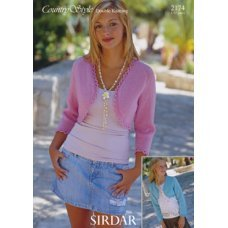Children Cardigans in Country Style Dk (2174)