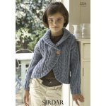 Children Cardigans in Supersoft Aran (2226)