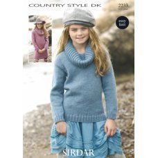 Children Sweaters in Country Style Dk (2233)