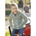 Children Cardigans in Supersoft Aran (2262)