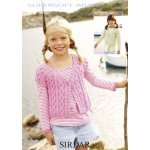 Children Cardigans in Supersoft Aran (2282)
