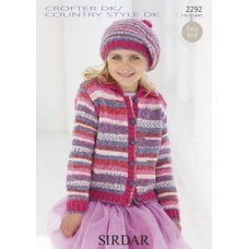 Children Scarves Hats & Gloves in Country Style Dk (2292)