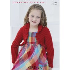 Children Cardigans in Country Style Dk (2294)