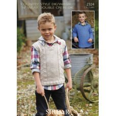 Children Sweaters in Country Style Dk (2324)