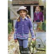 Children Cardigans in Country Style Dk (2325)