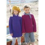 Children Sweaters in Supersoft Aran (2338)
