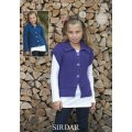Children Cardigans in Click Chunky with Wool (2342)