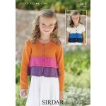 Childrens cardigans in Sirdar Cotton DK (2416)